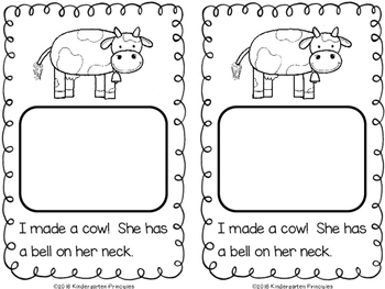 Interactive Farm Animal Emergent Reader