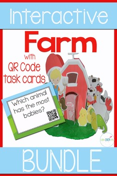 Farm Interactive Activity Mega Pack with 3-D Farm Diorama