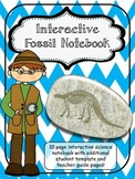 Interactive Fascinating Fossil Science Notebook