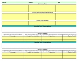 Interactive Fifth Grade Science Lesson Plan Template-Florida