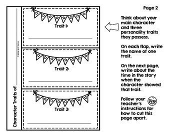 Interactive File-Folder Book Report (perfect for Gr. 3-5, ELL/ESL, Homeschool)