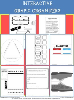 "Interactive File Folder, Interactive Notebook, ""Thank You M'am"" Literature Study"