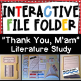 "Interactive File Folder, Interactive Notebook, ""Thank You"