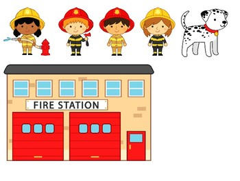 Interactive Firefighter Activity Set for Speech Therapy