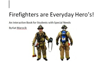 Interactive Firefighter Story for Community Helpers Mini Bundle