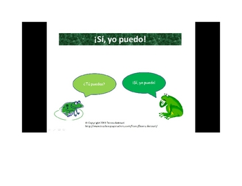 Interactive First Day Spanish Communicative Review Activity