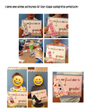 First Grade Interactive First Day of School Poster!