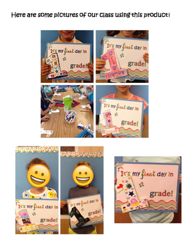 2nd Grade Interactive First Day of School Poster!