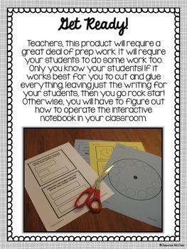 Interactive First Grade Math Notebook-Measurement and Data