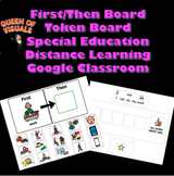 Interactive First/Then and Token Board Special Education G