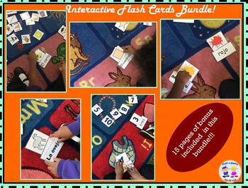 Interactive Flash Cards Bundle - Spanish