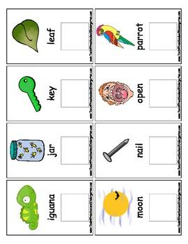 Interactive Flash Cards Upper to Lower Alphabet - PreK Kindergarten - PECS Style