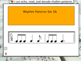 Interactive Flashcards- Rhythm Patterns 3A