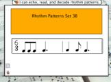 Interactive Flashcards- Rhythm Patterns 3B