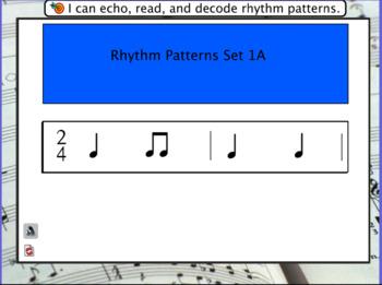 Interactive Flashcards- Rhythm Patterns Set 1A