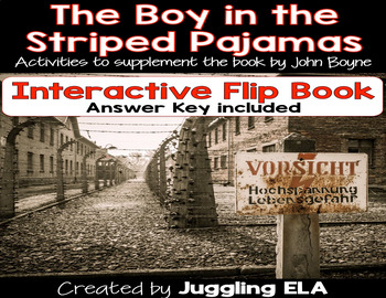 Interactive Flip Book for The Boy in the Striped Pajamas by John Boyne