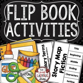 Interactive Flip Book Activities [Grammar, Reading & Poetry Activities]
