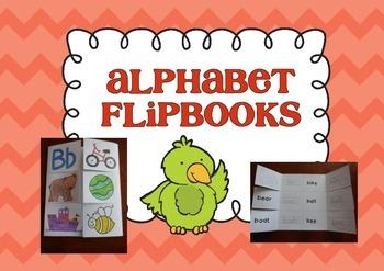Interactive Flip Books - Alphabet