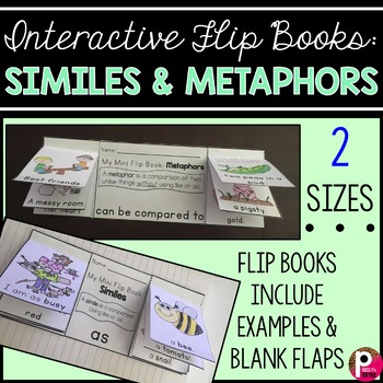 Simile and Metaphor Flip Books