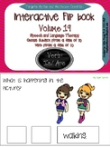 """Interactive Flip book verbs """"IS/ARE"""" Sentence Creation & Syntax (SpeechLanguage)"""