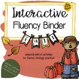 Interactive Fluency (Stuttering) Binder - FALL