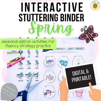 Interactive Fluency (Stuttering) Binder - SPRING