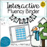 Interactive Fluency (Stuttering) Binder - WINTER | Digital