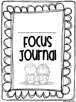 Interactive Focus Journal Unit 2 {Wonders Reading Program}
