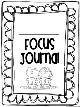 Interactive Focus Journal Unit 3 {Wonders Reading Program}