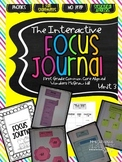 Interactive Focus Journal Unit 3 {Wonders Reading Program}