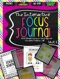Interactive Focus Journal Unit 5 {Wonders Reading Program}