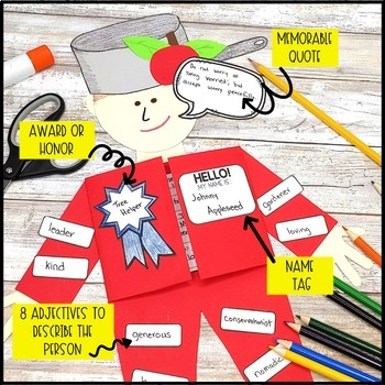 Interactive Foldable Biography Buddy Project