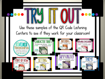 QR Listening Center SAMPLE