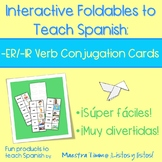 Interactive Foldables to Teach Spanish:  -ER & -IR Conjuga