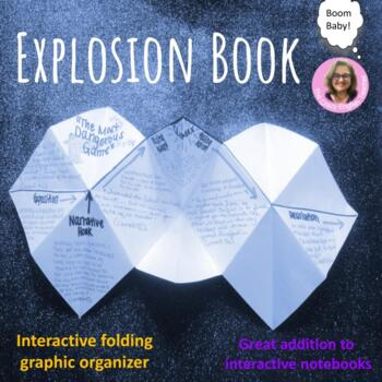 Interactive Notebook Graphic Organizer:Explosion Book: Lit.Devices