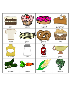 Interactive Food Categories for Speech Therapy!