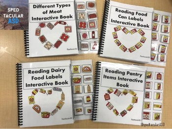 Interactive Food Labels Book BUNDLE