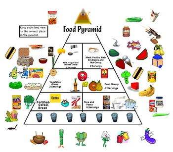 food pyramid teaching resources teachers pay teachers