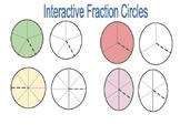 Interactive Fraction Circle Manipulative