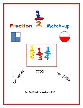 3rd Grade Fraction Match-Up  Common Core Standards