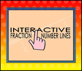 Interactive Fraction Number Lines for the SMART Board