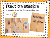Interactive Fraction Vocabulary Lapbook
