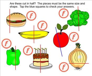 Interactive Fractions Part 1 (Parts of a Whole and Members