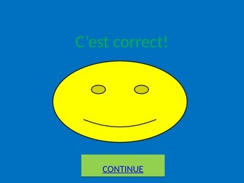 Interactive French Alphabet Powerpoint Base