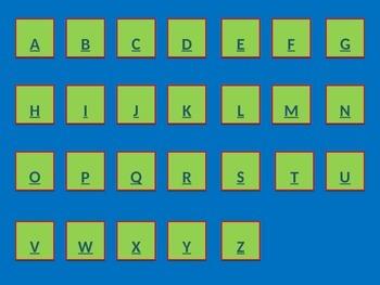 Interactive French Alphabet Powerpoint Practice