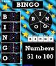 Interactive Smart Notebook French BINGO! Numbers 51-100