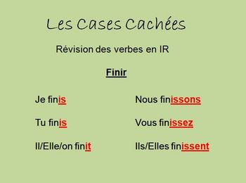 """Interactive French """"IR"""" Verb Activity (Powerpoint)"""