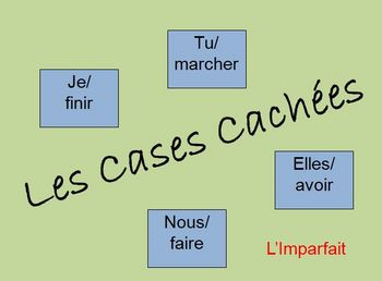Interactive French Imperfect Verb Form Activity (Powerpoint)