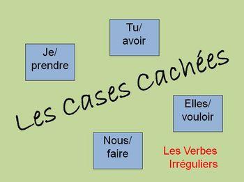 Interactive French Irregular Verb Activity (Powerpoint)