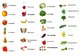 French Fruits and Vegetables Interactive Activity, Powerpoint Game